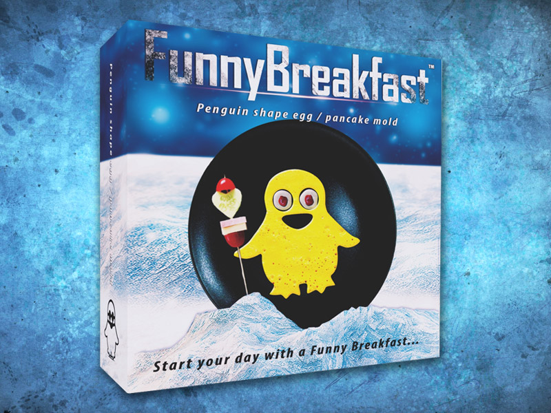 Funny Breakfast penguin egg / pancake shaper