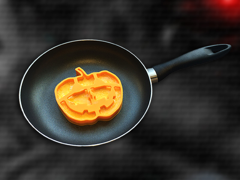 Funny Breakfast Pumpkin egg/pancake shaper